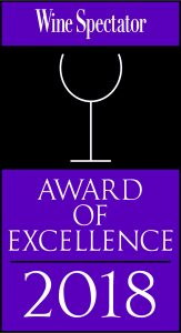 Saltine Wine Spectator Award